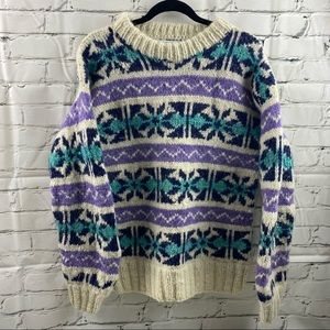 Amon & Andes imports 100% wool sweater